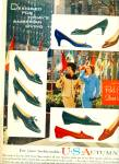 U. S. Autumn Red Cross shoes ad 1959