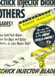 Click here to enlarge image and see more about item Z8351: Schick Injector Blades ad 1951