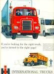 International trucks ad 1960