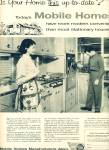 Mobile Homes Manufacturers Assn. ad 1958