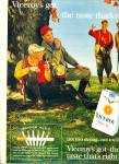 Viceroy filter tip cigarettes ad 1963 HUNTING
