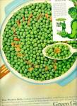 Click here to enlarge image and see more about item Z8420: 1961 -  Green Giant peas ad