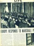 Click to view larger image of 1947 - Europe responds to Marshall Plan story (Image1)