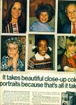 1971  Polaroid's Big shot camera ad CLOSE UP