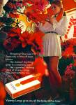 1971 - Viceroy Cigarettes AD MINI DRESS MODEL