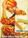 1971  Virginia slims cigarettes ad