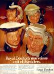 Click here to enlarge image and see more about item Z8602: 1980 - Royal Doulton character jugs ad