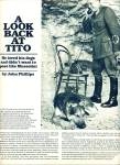 Click here to enlarge image and see more about item Z8609: 1980 =- A Look back at TITO - story