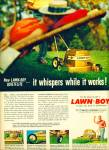 Click here to enlarge image and see more about item Z8620: 1959 - Lawn boy grass mower ad