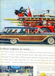 Click here to enlarge image and see more about item Z8622: 1959 -  Ford Station wagon - Galaxie ad
