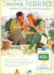 1959 - Kool mild menthol cigarettes ad