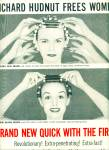 Click to view larger image of 1956 Richard Hudnut new quick wave ad REDHEAD (Image2)