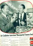 1956 -  Chase & Sanborn coffee ad -LINKLETTER