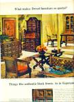 Click here to enlarge image and see more about item Z8751: 1968 -  Drexel furniture ad