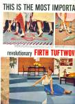 Click here to enlarge image and see more about item Z8860: 1957 -  Firth tuftwoven acrilan ads