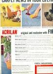 Click to view larger image of 1957 -  Firth tuftwoven acrilan ads (Image2)