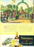 Click here to enlarge image and see more about item Z8949: 1946 -  Philadelphia blended whisky ad