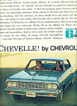 1964 -  Chevrolet Chevelle automobile ad