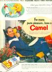 1955 - Camel cigarettes - TYRONE POWER