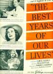 1946 - Movie AD ; THE BEST YEARS OF OUR LIVES
