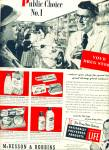 Click here to enlarge image and see more about item Z9127: 1951 -  McKesson & Robbins drug store ad