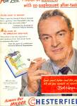 1951- Chesterfield cigarettes - BOB HOPE
