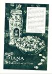Click here to enlarge image and see more about item Z9198: 1930s -  Bunte Diana stuft confections ad