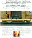 Click here to enlarge image and see more about item Z9305: 1972 - 1973 Oldsmobile ninety eight regency