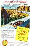 Click here to enlarge image and see more about item Z9344: 1952 - California Zephyr train ad