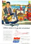 1956 -  United Air L:ines ad