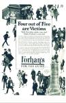 Click here to enlarge image and see more about item Z9499: 1924 - Forhan's for the gums ad
