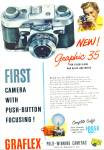 1955 - Graflex prize winning cameras ad