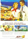 Click here to enlarge image and see more about item Z9530: 1949 - Matson lines to Hawaii ad