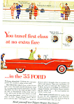 1955 - The 1955 Ford automobile ad