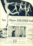 1951- Playtex fab lined girdle ad