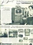 1951 - Emerson life tested TV and radio ad