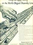 Click here to enlarge image and see more about item Z9563: 1951 - Association of American Railroads ad