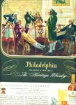 Click here to enlarge image and see more about item Z9593: 1947 -  Philadelphia blended whisky ad