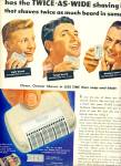 Click here to enlarge image and see more about item Z9616: 1951 - Sunbeam shavemaster ad