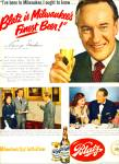 Click here to enlarge image and see more about item Z9623: 1951 -  Blatz Beer - GEORGE SANDERS