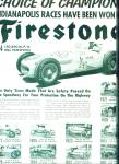 Click here to enlarge image and see more about item Z9624: 1954 -   Firestone tires - Indy Winners ads