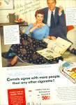 1954 -  Camel cigarettes - JOANNE DRU