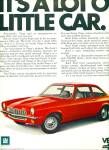 Click here to enlarge image and see more about item Z9720: 1971 - Chevrolet Vega auto ad