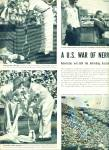 Click here to enlarge image and see more about item Z9756: 1955-  U. S.Tennis team wins Davis cup