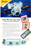 1947 - Kodak 35 with range finder camera ad