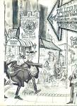 Click to view larger image of 1965-The Rites of Reno by artist RONALD SEARL (Image2)