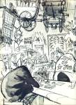 Click to view larger image of 1965-The Rites of Reno by artist RONALD SEARL (Image3)