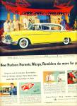 Click here to enlarge image and see more about item Z9844: 1955 -  Hudson Hornet, wasp and Rambler ad