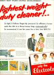 Click here to enlarge image and see more about item Z9877: 1955 -  Electrolux vacuum cleaner ad