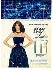 1982 -  Virginia slims lights cigarettes ad